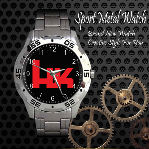 Heckler Firearms 2nd Amendment Sport Metal Watch