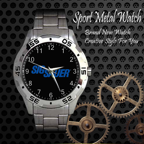 Sig Sauer Firearms 2nd Amendment Sport Metal Watch