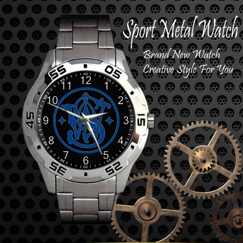 Smith And Wesson 2 Firearms 2nd Amendment Sport Metal Watch
