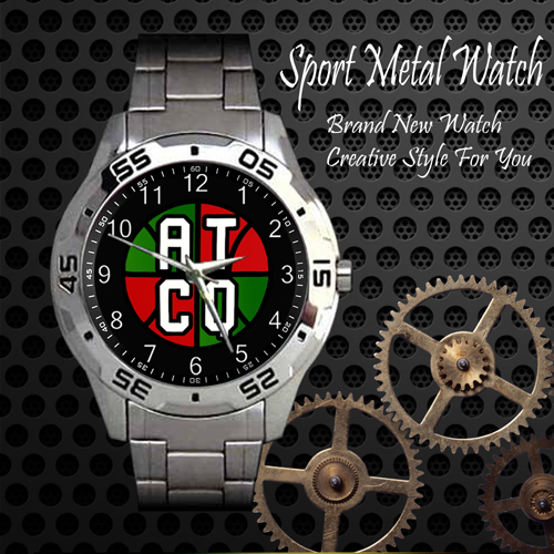 A Tribe Called Quest Atcq 4 Skateboard Sport Metal Watch