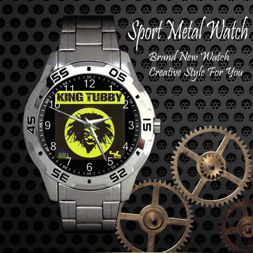 King Tubby Skateboard Sport Metal Watch