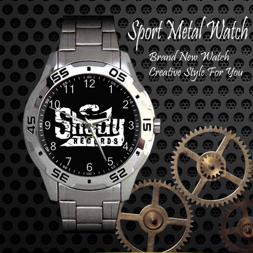 Shady Records Skateboard Sport Metal Watch