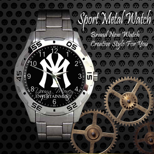 Young Money 1 Skateboard Sport Metal Watch
