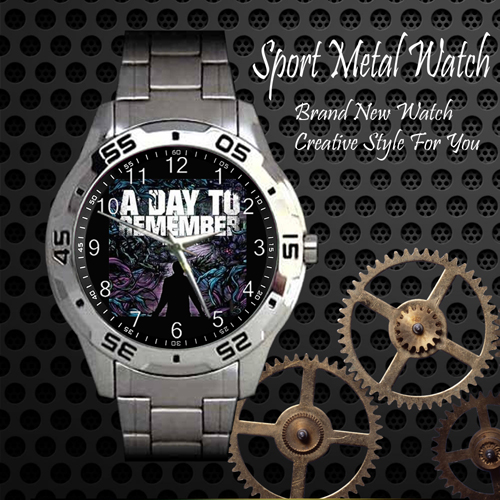 A Day To Remember Rock Band Sport Metal Watch