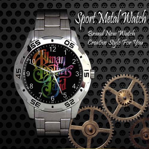 All Man Brothers Band Rock Band Sport Metal Watch