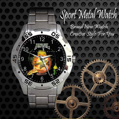 Anvil Rock Band Sport Metal Watch