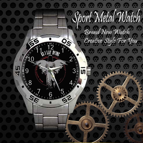 As I Lay Dying 1 Rock Band Sport Metal Watch