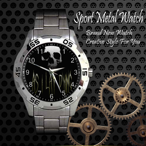 As I Lay Dying 2 Rock Band Sport Metal Watch