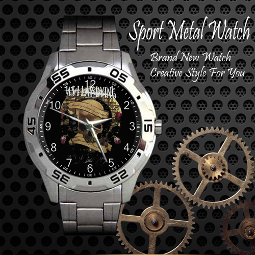 As I Lay Dying Rock Band Sport Metal Watch