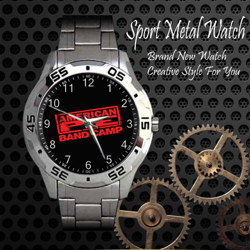 Band Camp American Pie Rock Band Sport Metal Watch