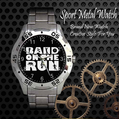 Band On The Run Rock Band Sport Metal Watch