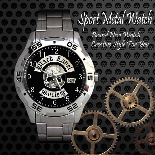 Black Label Society 1 Rock Band Sport Metal Watch