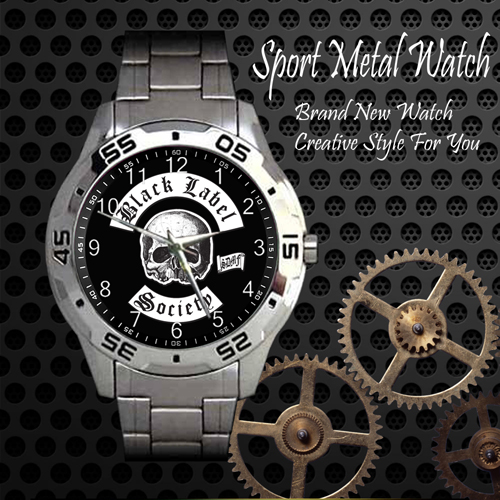 Black Label Society Rock Band Sport Metal Watch