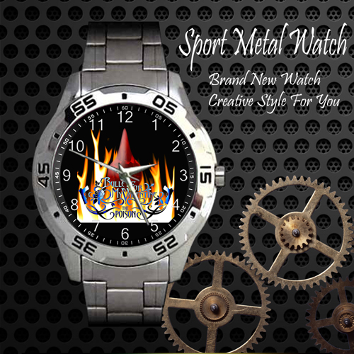 Bullet For My Valentine 1 Rock Band Sport Metal Watch