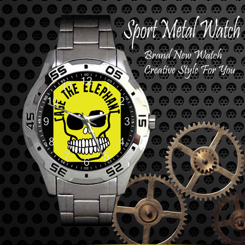 Cage The Elephant 2 Rock Band Sport Metal Watch