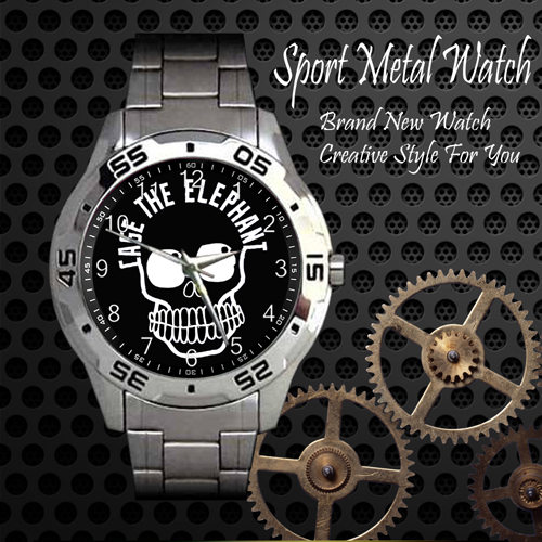Cage The Elephant 3 Rock Band Sport Metal Watch