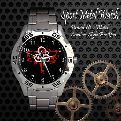 Coheed And Cambria 1 Rock Band Sport Metal Watch