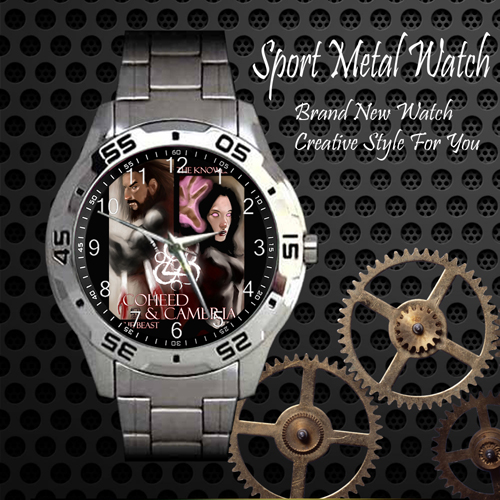 Coheed And Cambria Rock Band Sport Metal Watch