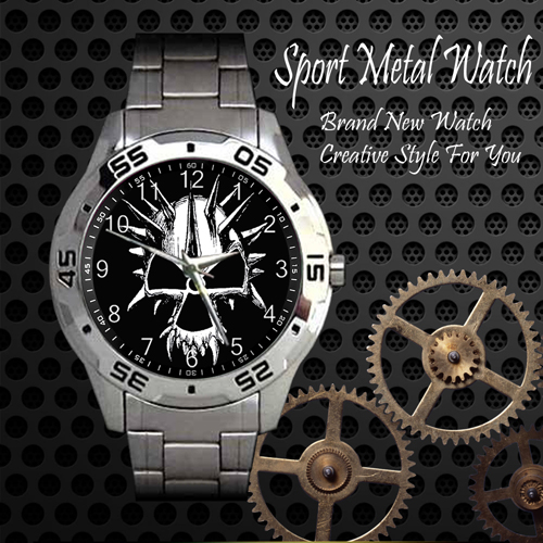 Corrotion Of Conformity Rock Band Sport Metal Watch