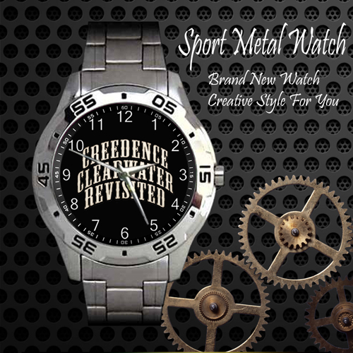 Creedence Clearwater Revival Rock Band Sport Metal Watch