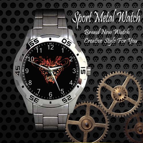 Danzig 2 Rock Band Sport Metal Watch