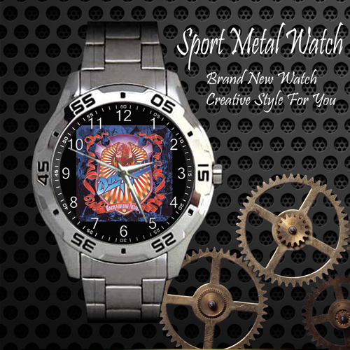 Dokken Back For The Attack Rock Band Sport Metal Watch