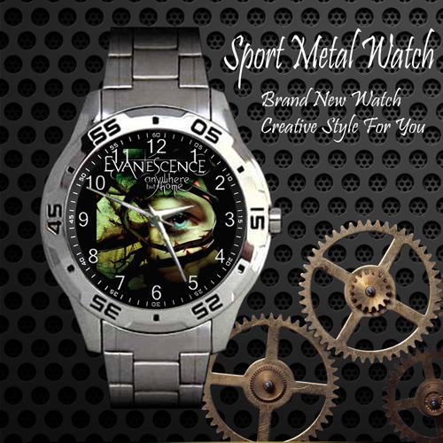 Evanescence Rock Band Sport Metal Watch