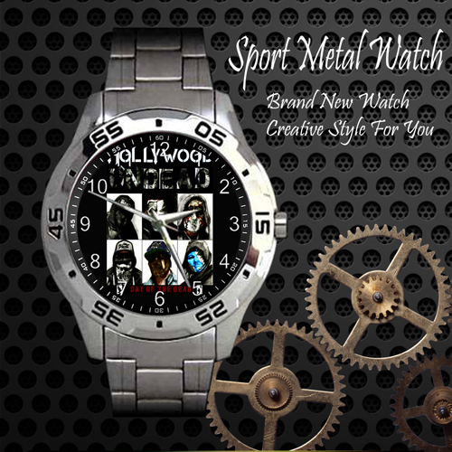 Hollywood Undead 2 Rock Band Sport Metal Watch