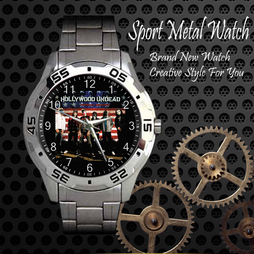 Hollywood Undead 4 Rock Band Sport Metal Watch