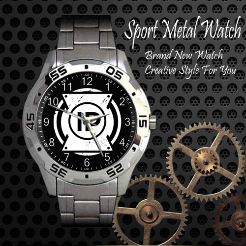 I Prevail 1 Rock Band Sport Metal Watch
