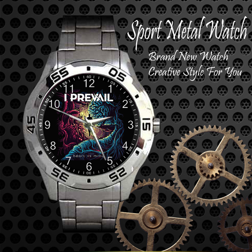 I Prevail 2 Rock Band Sport Metal Watch