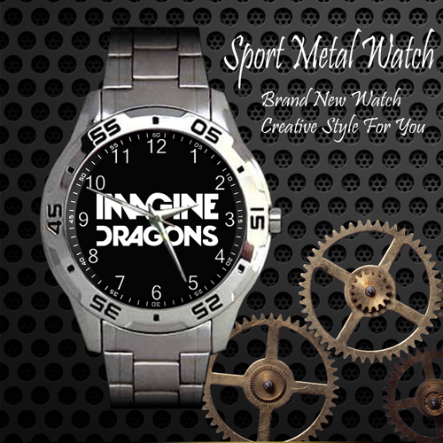 Imagine Dragons Rock Band Sport Metal Watch