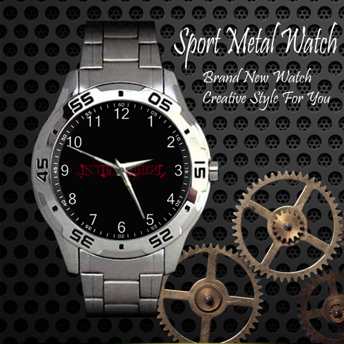 In This Moment 1 Rock Band Sport Metal Watch