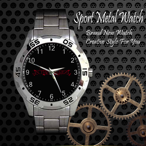 In This Moment 5 Rock Band Sport Metal Watch