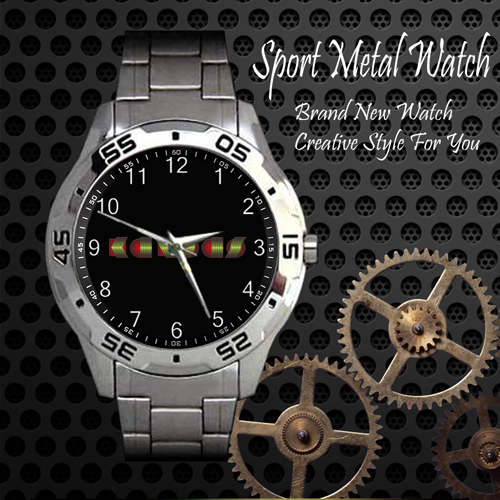 Kansas Rock Band Sport Metal Watch