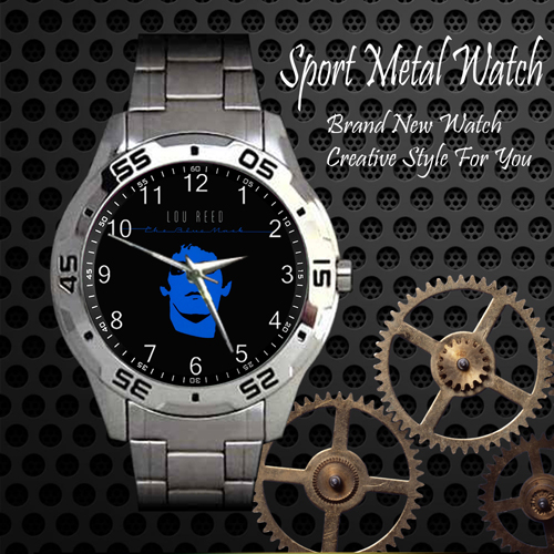 Lou Reed The Blue Mask Rock Band Sport Metal Watch