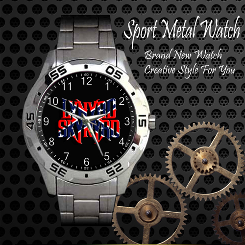 Lynyrd Skynyrd 3 Rock Band Sport Metal Watch