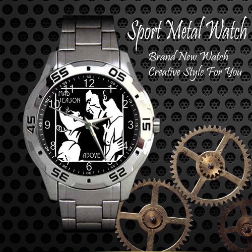 Mad Season Above Rock Band Sport Metal Watch