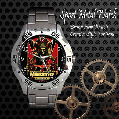 Ministry 1 Rock Band Sport Metal Watch