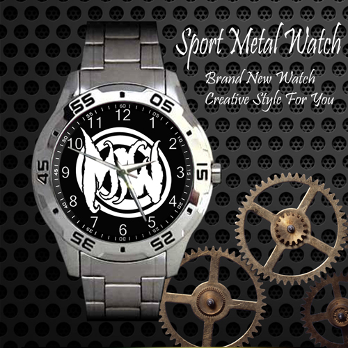 Motionless In White 3 Rock Band Sport Metal Watch