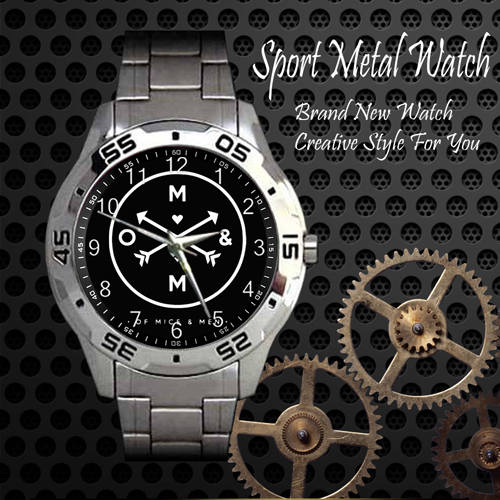 Of Mice And Men 1 Rock Band Sport Metal Watch