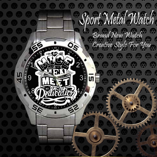 Of Mice And Men 2 Rock Band Sport Metal Watch