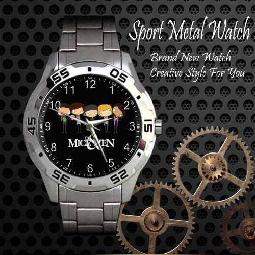 Of Mice And Men 3 Rock Band Sport Metal Watch