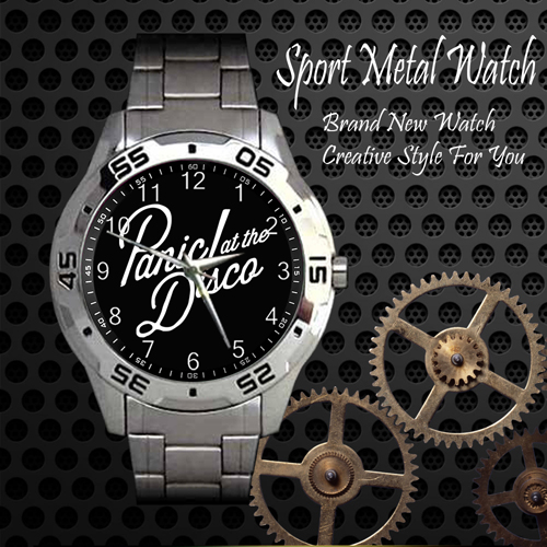 Panic At The Disco Rock Band Sport Metal Watch