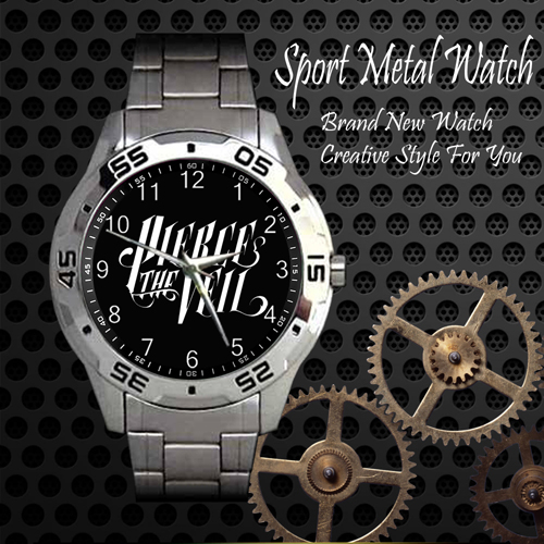 Pierce The Veil 1 Rock Band Sport Metal Watch