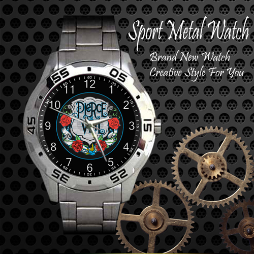 Pierce The Veil Rock Band Sport Metal Watch