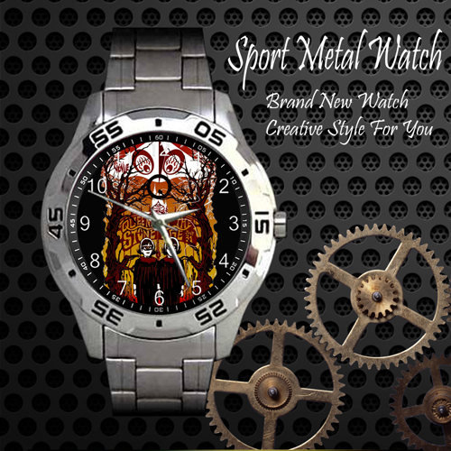 Queens Of The Stone Age Rock Band Sport Metal Watch