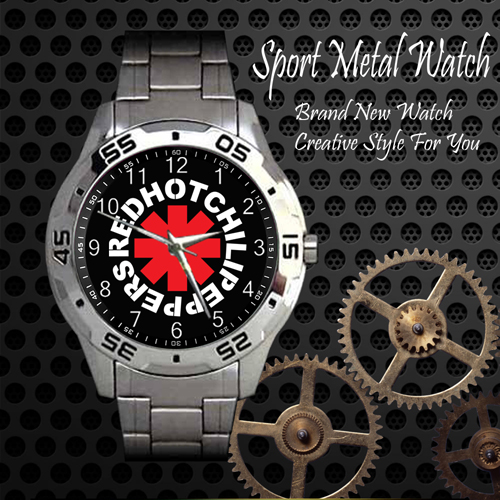 Red Hot Chili Peppers Rock Band Sport Metal Watch