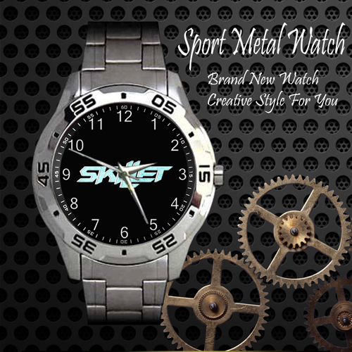 Skillet 4 Rock Band Sport Metal Watch