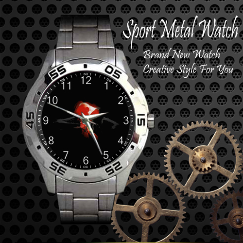 Staind 1 Rock Band Sport Metal Watch
